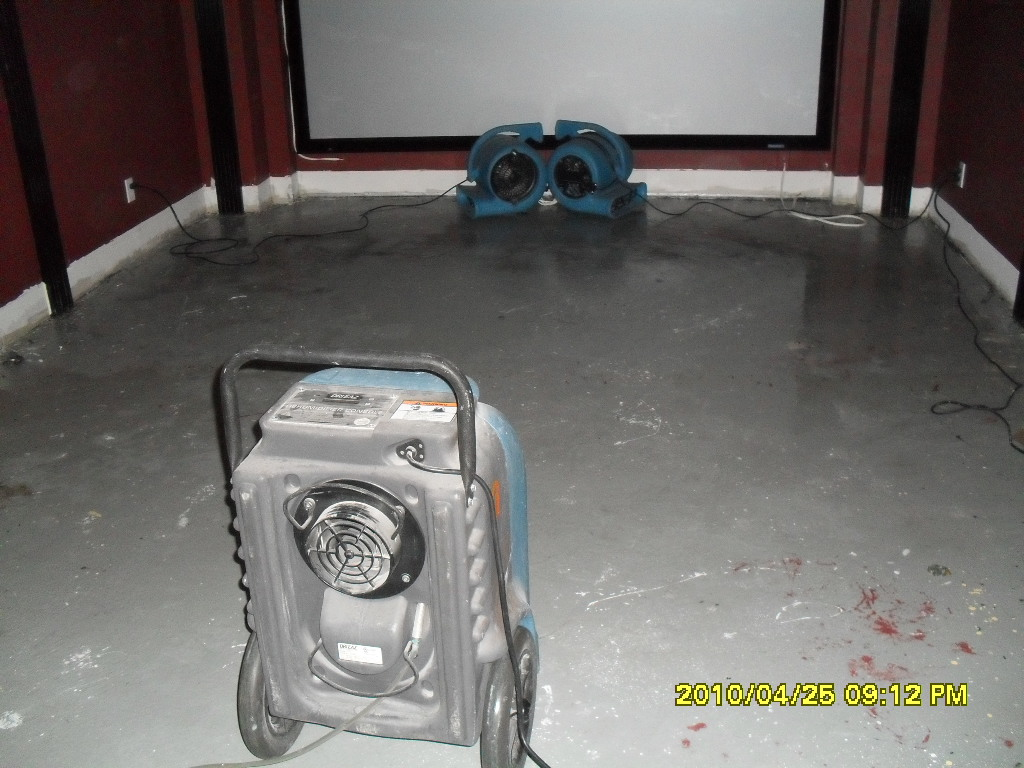 Equipments For Water Damage